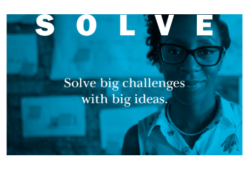 Solve big challenges with big ideas